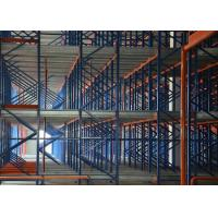 Buy cheap Steel radio shuttle racking for warehouse storage from wholesalers