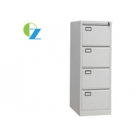 China 4 Drawer Filing Cabinet With Name Holder Goose Neck Handle Document Storage For Office on sale