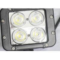 China 40W Offroad LED Work Lights , Beacon 4WD UTE SUV Jeep Driving Lights wholesale