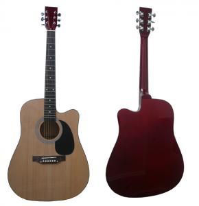 "China 41"" Spruce Cutaway Wood Acoustic Guitar / Western Guitar Various Color AF4129CA wholesale"