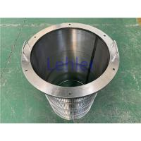 China Spiral Wedge Wire Filter Elements For Solid - Liquid Separation / Plastics Extrusion wholesale