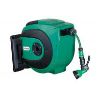 China Auto Rewind Air And Water Spring Driven Hose Reel With 0.9 Meter Lead In Hose wholesale