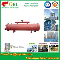 China Floor Standing CFB Boiler Drum Non Toxic , Steam Drum In Boiler wholesale