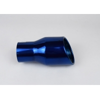 China Corrosion Resistance Blue SS304 Car Exhaust Muffler Tip wholesale