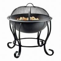 China Outdoor Fire Pit/Grill Fire Pit for Sale, Two-sided Food Trays, Made of Plastic wholesale