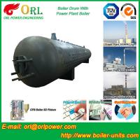 China 300 Ton Hot Water Carbon Steel Boiler Drum Water Proof Heat Insulation wholesale