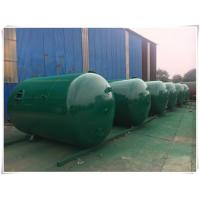 China Horizontal Air Receiver Tanks For Compressors , Stainless Steel Pressure Vessel wholesale