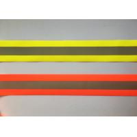 Quality 100% Polyester High Visibility Silver reflective tapes for Safety Vests / for sale