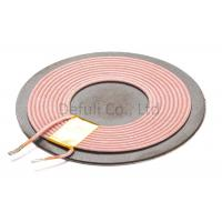 China Smart Phone Qi Wireless Receiver Coil 0.08*105P Wire Dia With ISO SGS Listed wholesale