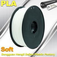China Soft PLA Filament, 3D Printer filament.1.75 / 3.0mm,DEJIAN Factory wholesale