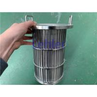 China Length 300mm Wedge Wire Filter Elements Large Slot Opening Large Flow Rate wholesale