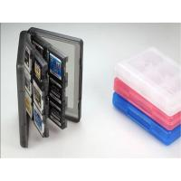 China Plastic Folding 28 in 1 Nintendo Switch Parts Game Card Case Box / Video Game Card Container wholesale