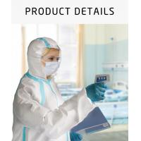 China Medical Protection Disposable Isolation Coverall Clothing Hazmat Suit, Disposable Medical Personal Protective clothing wholesale