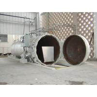 China Chemical Concrete Autoclave with PLC control and hydraulic pressure door wholesale