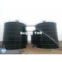 China Cow Dung Biogas Digester 3 - 13 Mm Panel Thickness 100% Gas Tight Roof wholesale