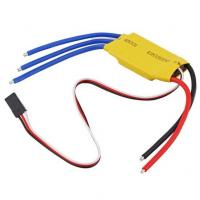 China 1.5A/5V BEC 30A ESC Brushless Motor Speed Controller For RC Toys Yellow wholesale
