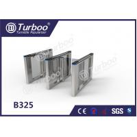 China Office Security Swing Electronic Turnstile Barrier Gate RFID Card Reader wholesale