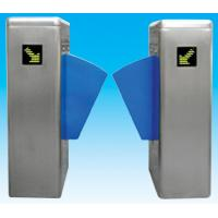 Quality Flap barrier 304 stainless steel security gate barrier with in-built alarm system for sale