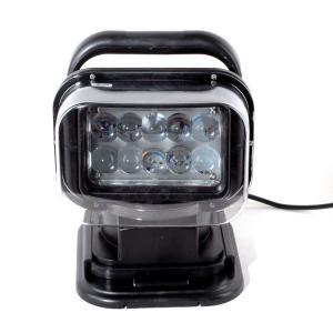 China 50W  4000lumens 12DV Cree LED Marine Remote Control Spotlight Offroad Truck Car Boat Search Light wholesale