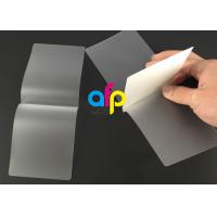 China Card Membrane Clear Laminating Pouches Film Different Thickness Optional wholesale