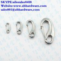 Quality manufacturing stainless steel 304/316 egg shape snap hook / mini snap hook for sale
