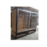 China Clear Tempered Glass Door Wall Mounted Display Cabinets Commercial Retail Commercial Retail wholesale