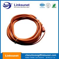 China Orange Circular Connector Cable Assembly custom Hybrid Electric Vehicle Connector wholesale