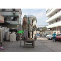 China Stainless Steel Agitator RO Water Storage Tank For Food , Cosmetics , Beverages Factory on sale