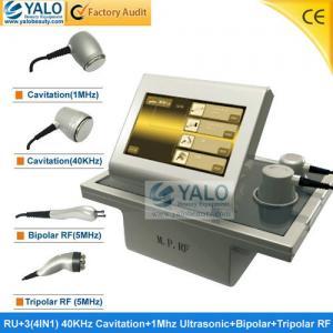 China Shrink Abdomen Vacuum Cavitation RF Slimming Machine For Skin Tightening RF+3 wholesale
