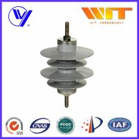 China 9KV Gapless Metal Oxide Surge Arrester Polymer Self - Standing with KEMA Certified wholesale