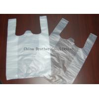 China Environmental Protection Custom Printed Plastic Shopping Bags With Handles wholesale