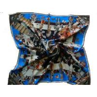 Quality Tiger Printed Silk Scarf (HP-2327) for sale