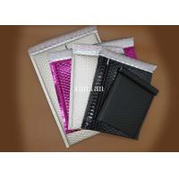Shiny Plastic Bubble Mailer Postage , Light Shield Metallic Bubble Mailers