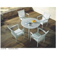 China China pe rattan outdoor restaurant table chair furniture sets wholesale