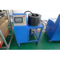 China Rubber And Steel Material Hydraulic Hose Crimping Machine For Air Suspension Parts wholesale