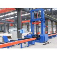 China Hydraulic H Beam Production Line Automatic Centering 2500mm Web Height 9.5 KW Input wholesale