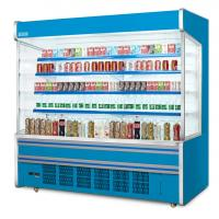 China Commercial Self Service Multideck Open Chiller With 4 Layer Decks R404a Refrigerant wholesale