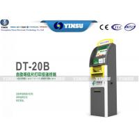 China Yinsu kiosk YS-20B  Free-standing Terminal Payment Kiosk with Cash Acceptor for post card wholesale