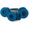 China Polishing 180 Grit Mini Flap Disc On Wood , Roloc 3 Inch Flap Disc 50mm 75mm wholesale