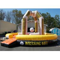 China 29 Ft 4 Person Funny Inflatable Sports Games Inflatable Wrecking Ball Playground wholesale