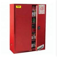 China Durable Paint Storage Cabinets With Double Decked Fire Resistant Steel Plate Structure wholesale