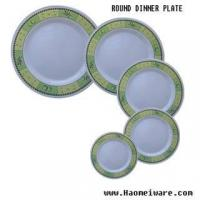 China melamine plate wholesale