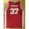China Custom OEM Sublimation v neck blue basketball jersey basketball vest wholesale