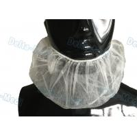Buy cheap Disposable White Elastic Surgical Beard Cover , 10gsm PP Disposable Beard Net from wholesalers