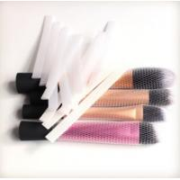Buy cheap Protective Makeup Brush Mesh Packaging Sleeves PE Plastic Net Cover from wholesalers