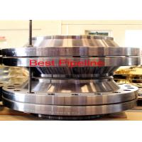 China Alloy Steel Reducing Weld Neck Flange , Carbon Steel Forged Flanges  wholesale