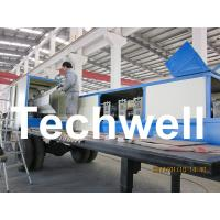 China 914-610 Mobile K Span Roll Forming Machine for 0.8 - 1.5mm K Span Arched Roof Panel wholesale
