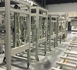 China Aluminum Standard Modular Assembly System wholesale
