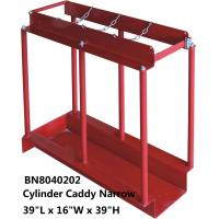 China Red In Line Gas Cylinders Caddy Full Steel Structure 39 *16 *39 Inch wholesale