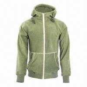 China Men's and Ladies' Fashionable Fleece Black/Army Green Lifestyle Jacket wholesale